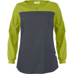 Butter-Soft Scrubs by UA™ Long Sleeve Top w/ Yoke