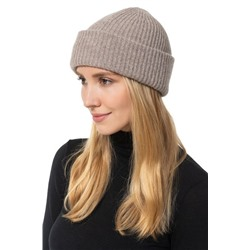 AMICALE Double Layer Cashmere Beanie
