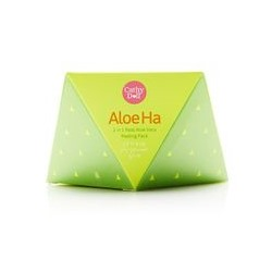Скраб-маска с алоэ вера Aloe Ha от Cathy Doll 100 гр / Cathy Doll Aloe Ha 2in1 Real Aloe Vera Peeling Pack 100g