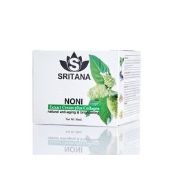Крем для лица Sritana с нони и коллагеном 50 мл /Sritana Noni collagen cream 50 ml