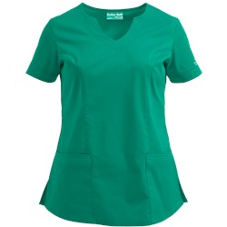 UA Butter-Soft STRETCH Scrubs Scallop Neck with Triple Stitch Top