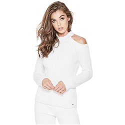 INGRID COLD-SHOULDER SWEATER