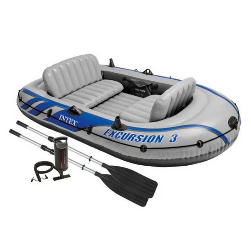 купить лодку трехместную резиновую