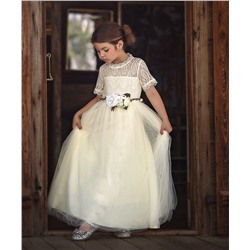 Ivory Gracie Gown - Infant, Toddler & Girls Trish Scully Child