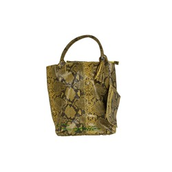 PELLE SHOPPER SERPIENTE/2 OCRA